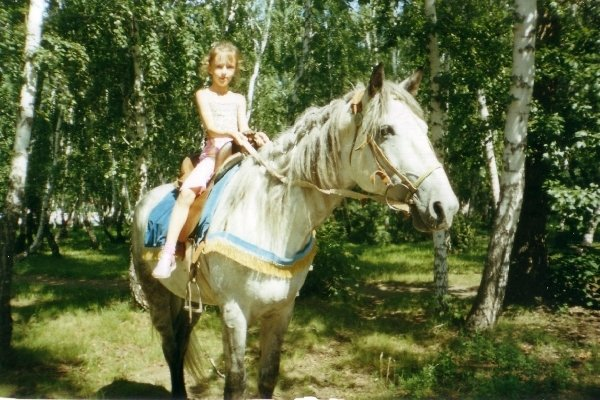 """Я верком на лошади в \\\\\\\""""Парке культуры и отдыха\\\\\\\"""" (А вы думали моя собственная?)"""