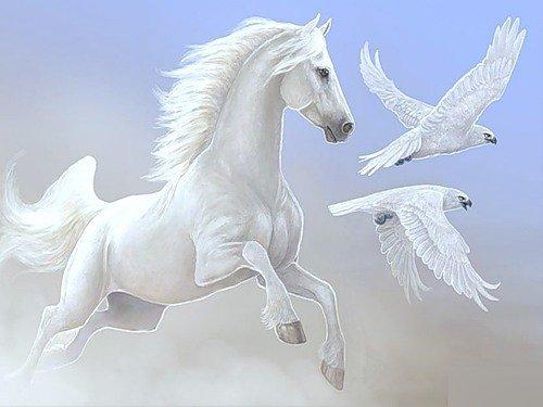 Летящий конь