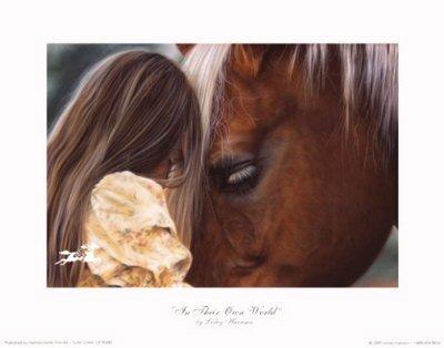 Вспомнила, читая1 стихи Рицы про лошадей
