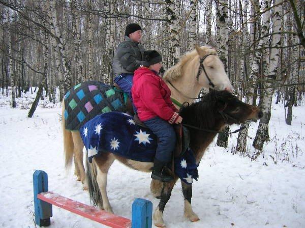 Дети на лошадях