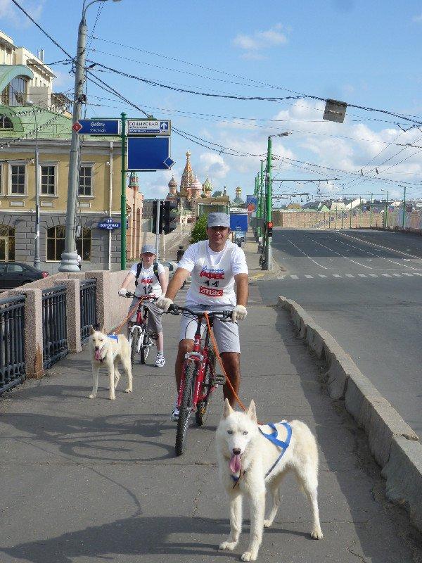 Первый этап велобайкмарафона 12 июня 2011 года от Москвы-Сочи