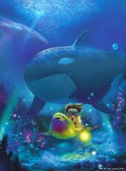 Подводное приключение!