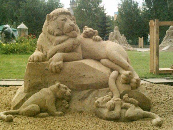 Песчаные фигуры.