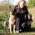 Джонни и Зэя вместе с любимой хозяйкой