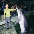 Я и дельфин Флори.
