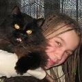 Я и моя любимая кошка Тося