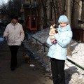 прогулка в парке (мама,   папа,   я,   Даня и Сёма)