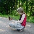 Вот тебе и дикое животное))))
