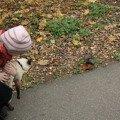 Сёма знакомится с белкой!   А Даня в это время съел всё печенье,   предназначенное белке...