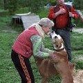 Я и Марлен Брао Ева Энжел . Ева Энжел дочь Гоши (Марлен Брао Игл ) и Алласт Престиж Беатрис. Ева Энжел мой алиментный щенок . Ребенок радуется ,   узнала меня .