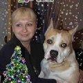 Нашу с Гошей фото видоизменила немного моя подруга Марина Задорожная и прислала  нам как Новогоднее поздравление.  Добавилась надпись на фото и елочка.