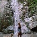 С Баксом ,  моим первым АСТ мы объездили  почти все побережье черного моря ,   Бакс был в Приэльбрусье и в поселке Домбай.