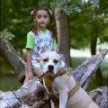 Марлен Брао Игл и внучка наших друзей  Диана из Архипо - Осиповкм . Диана внучка Нины и Коли Малхасян .   Диана и ее верный паж Гошка .