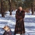 Я и Бася . Серебрянный бор .