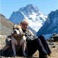 Домбай. Гора Муса Ачитара . Я и Марлен Брао Игл.