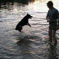 Первые уроки по плаванию
