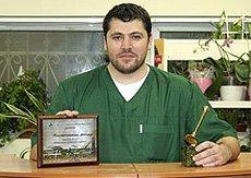 Офтальмолог ВЦ «Зоовет» Константиновский А.А - победитель рубрики  «Обмен опытом в ветеринарной практике»