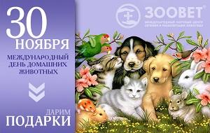 Поздравление с домашним животным